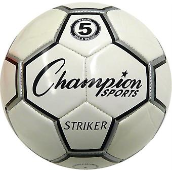 BA944P, Champion Sports Striker Soccer Ball - Taille 4