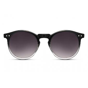 Sunglasses Unisex panto full-edged kat. 3 black/smoke