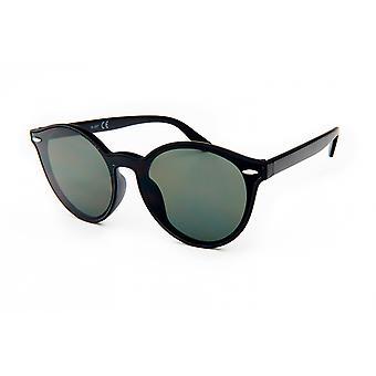 Sonnenbrille Unisex    Wanderer schwarz/grün (20-154)