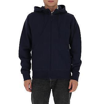 Y-3 Fn3365blk Männer's blau Baumwolle Sweatshirt