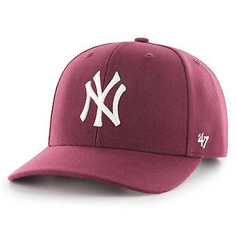 47 Brand Low Profile Cap - ZONE New York Yankees maroon
