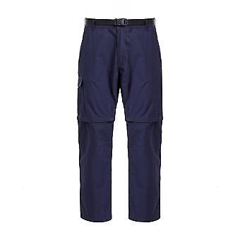 Hi-Gear Men's Nebraska II Pantalones Zip-Off Navy