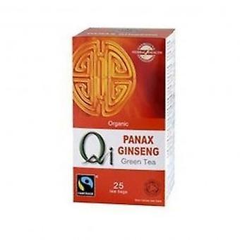 Qi - Organic Green Tea & Ginseng 25bag