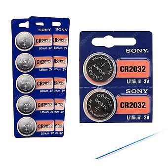 Cr2032 3v 100% alkuperäinen litiumakku kellon kaukosäätimen laskimeen