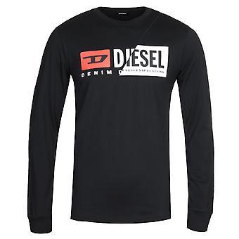 Diesel T-Diego Cuty Long Sleeve Black T-shirt