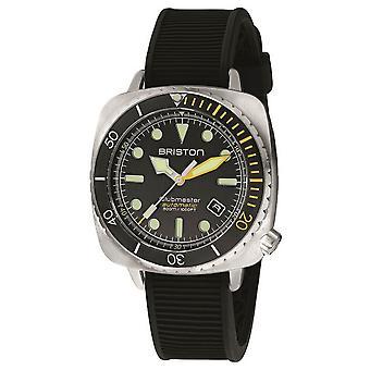 Briston Clubmaster Diver Pro Watch - Black/Yellow/Steel