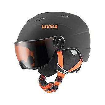 UVEX Junior Visor Pro 10-16 year old Black Orange Mat