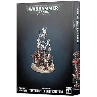 Spiele-Workshop - Warhammer 40k: Adepta Sororitas Der Triumph der heiligen Katherine