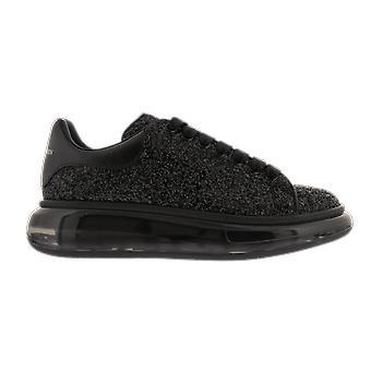Alexander McQueen Sneake Leath S.Rubb. Glit Musta 634612W4NH11000 kenkä