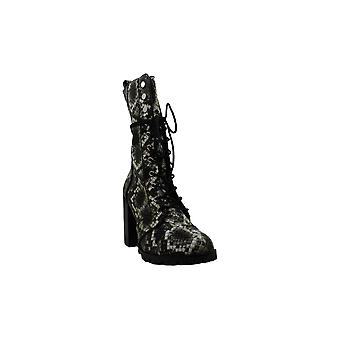 DV by Dolce Vita Women's Shoes Ayleen Snakeskin Closed Toe Mid-Calf Fashion B...