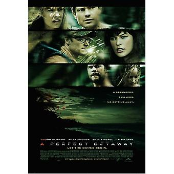 A Perfect Getaway Movie Poster (11 x 17)