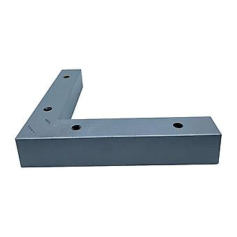 Jambe d'angle en bois argenté 4,5 cm (1 pièce)