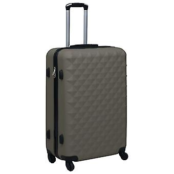 vidaXL Hard Shell Trolley Anthracite ABS