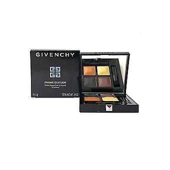 Givenchy Prisme Quatuor Intense et Radiant Eyeshadows 4 Couleurs 4x1g Braise #8 -Box Imperfect-