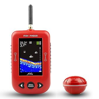 Fish Finder Portable Wireless Sonar, Distance Range Lake Detect