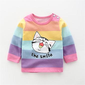 Sweatshirts d'automne de chéri, vêtements nouveau-nés de chemises occasionnelles d'enfant en bas âge