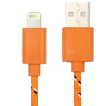 Cablu de încărcare prin transfer de date USB de 3m nylon, pentru iPhone 6 &; 6 Plus, iPhone 6s && 6s Plus, iPhone 5 && &5S 5C, Compatibil cu până la iOS 11.