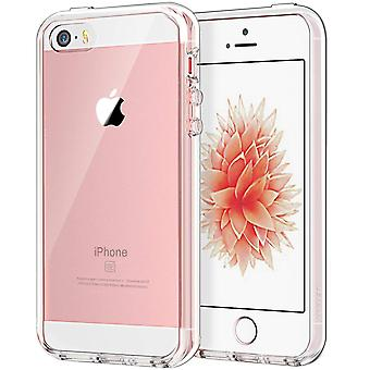 Jetech case for apple iphone se (2016 edition), iphone 5s and iphone 5, shockproof bumper cover, ant