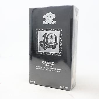 Aventus by Creed 10Th Anniversary Limited Edition 3.3oz/100ml Spray New With Box
