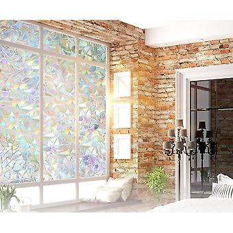 Rainbow Effect Window Film-self-adhesive, Privacy Foil, Heat Control Sticker