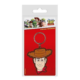 Toy Story 4 Llavero de goma leñoso