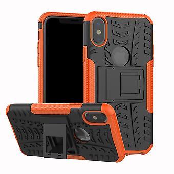 Pro stødsikker silikone kickstand rustning telefon sag Cover