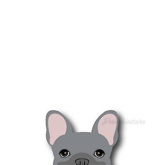 Frenchie Sticker | Frenchiestore |  Blue French Bulldog Car Decal