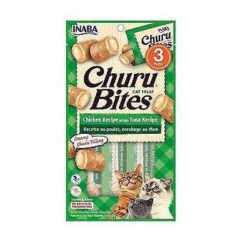 Churu لدغات للقطط التونة وصفة 3packs