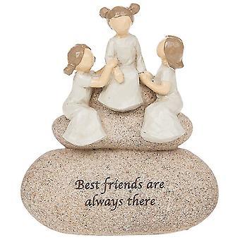 Sentiment Stones Friends Ornament