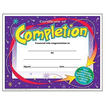 Certificado de Finalización Colorido Clásicos Cert'S., 30 Ct