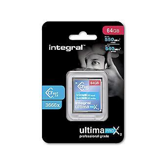 Ενσωματωμένη κάρτα cfast 64GB 2.0 υψηλής απόδοσης με ταχύτητα ανάγνωσης έως 550mb/s και ταχύτητα εγγραφής έως 54