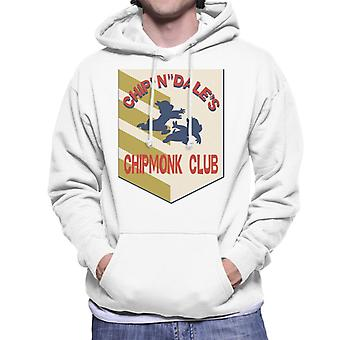 Disney Chip e Dale Chipmonk Club Men's Moletom Encapuzado