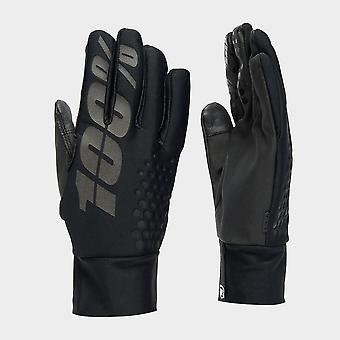New Brisker Men'S Hydromatic Waterproof Gloves Black