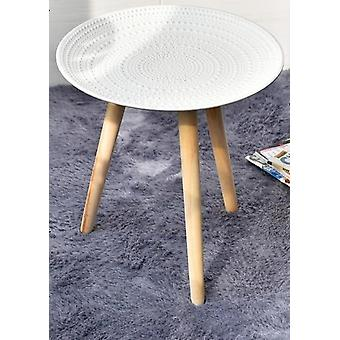 Creative Round Nordic, Wood Coffee Table, Storage Tea, Fruit Plate, Tray Home
