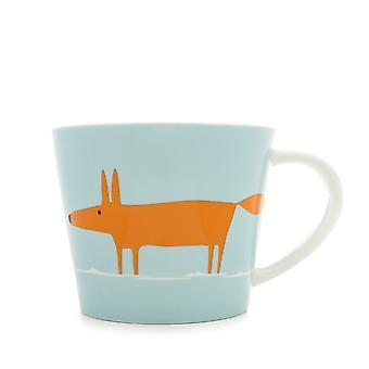 Scion Mr Fox Duckegg and Orange Large Mug
