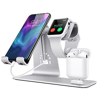 Bestand h06 multifunktionale 3-in-1 wireless Ladegerät Dock Ladestation Desktop-Halter für iphone Interface Geräte Tablet für Airpods Smart Watch