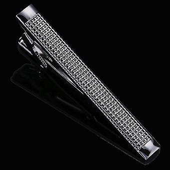 Laser Engraving Tie Clip, Men's Business Pin