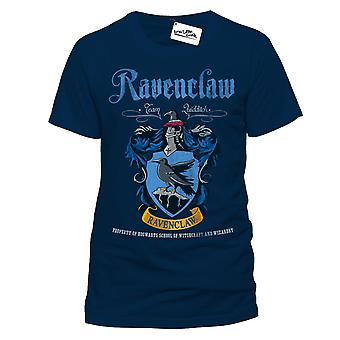 Harry Potter Unisex Adult Quidditch Ravenclaw T-Shirt