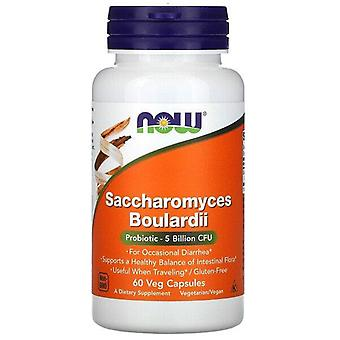 Nu livsmedel, Saccharomyces Boulardii, 60 Veg kapslar
