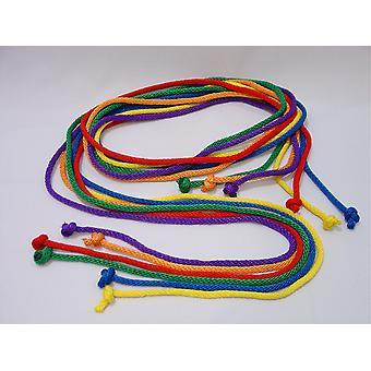 Corde da salto in nylon resistenti - Set di 6 colori, 7' L