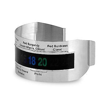 Edelstahl Wein Temperatur Armband Sensor