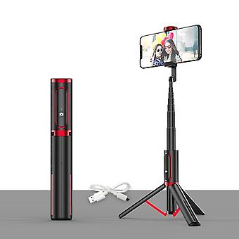 Selfie Stick Tripod Rechargeable Bluetooth Mobile Phone Holder Stand