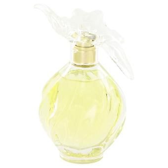 L'air Du Temps Eau De Toilette Spray With Bird Cap (Tester) By Nina Ricci 3.4 oz Eau De Toilette Spray With Bird Cap