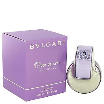 Omnia Amethyste Eau De Toilette Spray By Bvlgari 2.2 oz Eau De Toilette Spray