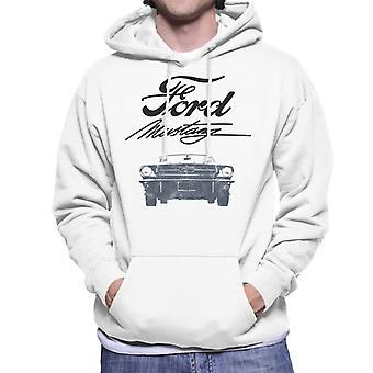 Ford Mustang Signature Men's Hooded Sweatshirt