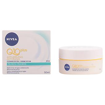 Nivea Q10+ Anti-wrinkle Day Cream spf15 Piel mixta grasa 50 ml