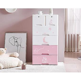 Children's Drawer, Receptionist Cabinet, Baby Wardrobe, Plastic Storage,