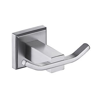 Sus304 Wall Hangers Brushed Clothes Single Hanging Hook