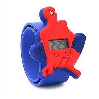 Zegarki dla dzieci&s Clock, Spiderman Silicone Cartoon Watches