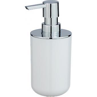 posa zeepdispenser 330 ml wit/chroom